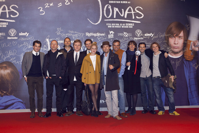 Jonas-Premiere in Berlin