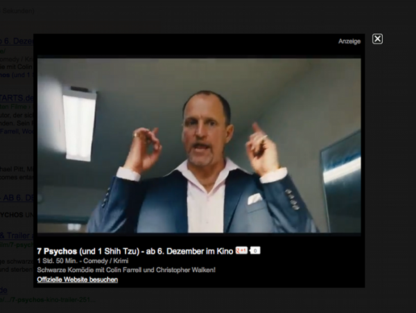 Media Ad Layer 7 Psychos Woody Harrelson