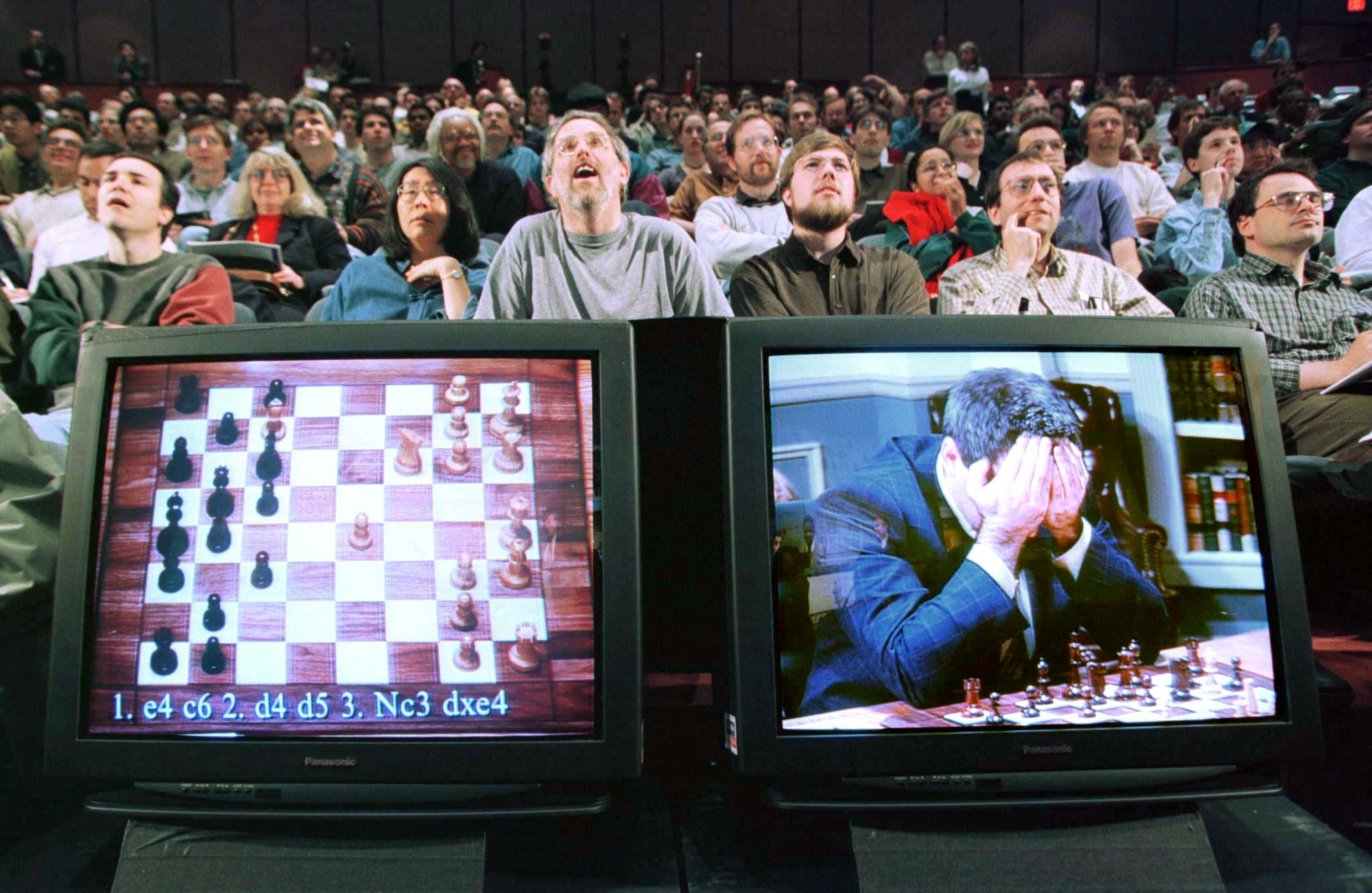 IBM's Deep Blue vs. Gary Kasparov